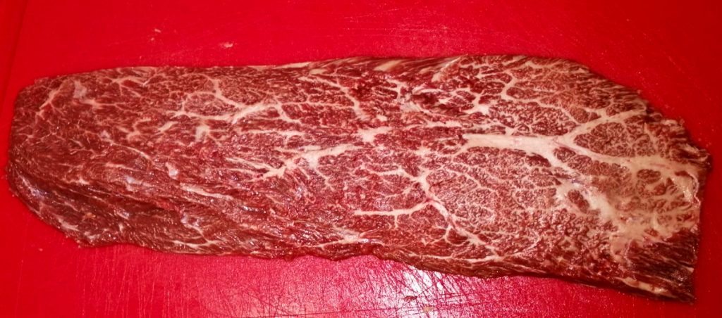 Flat Iron Steak vom Wagyu Rind